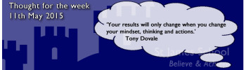 Thought for the week 11th may