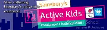 Sainsbury's Active Kids Voucher Collection