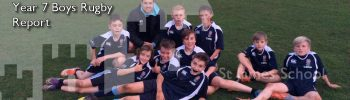 Year 7 Boys Rugby Report