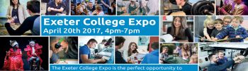 Exeter College Expo – Thursday 20th April