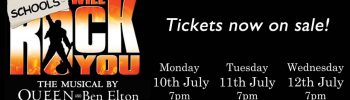 Schools We Will Rock You tickets now on sale!