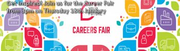 Careers fair – Thursday 18th January