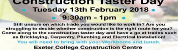Exeter College – Construction Taster Day