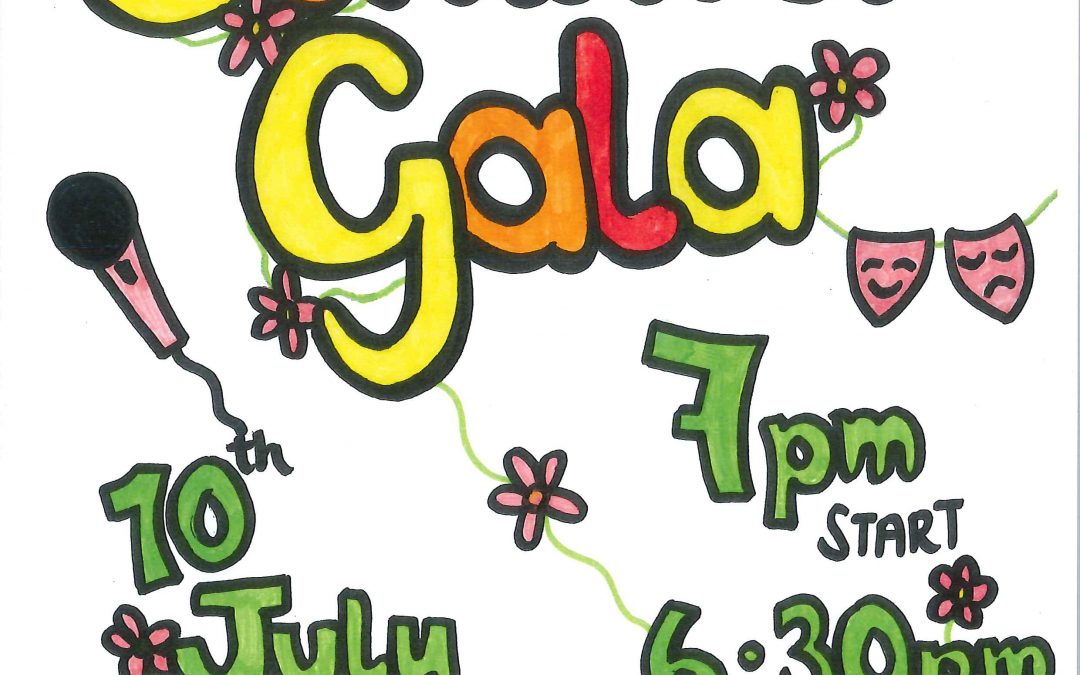 St James Summer Gala – 10th July 6:30 doors open