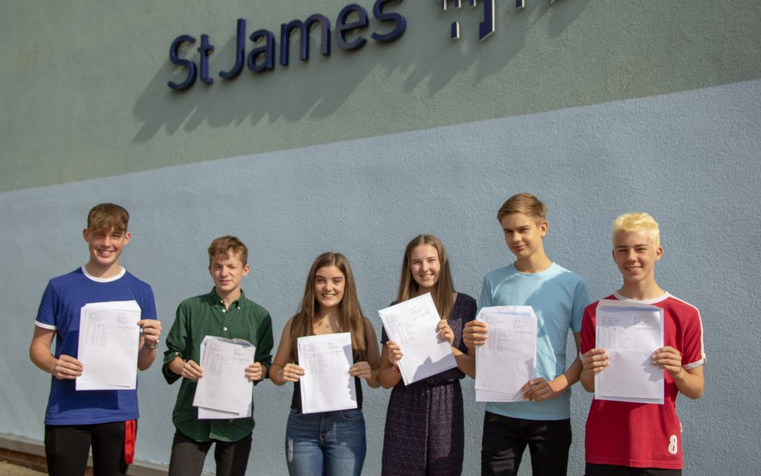 St James secure their best ever GCSE results